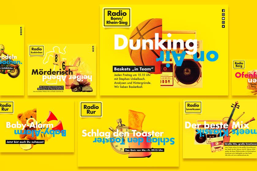 Sechs Sender Kampagne