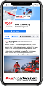 DRF LUFTRETTUNG Social Media